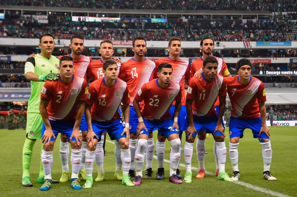 Costa Rica Team Football