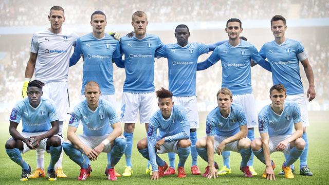 Malmo FF football Team