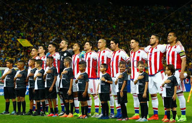 Paraguay  Team Football