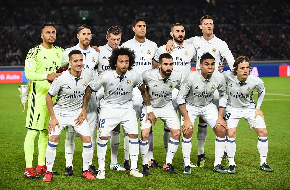 "Real Madrid v Kashima Antlers FIFA Club World Cup Final ""width ="" 409 ""height ="" 267 ""/> </p> <p><span style="