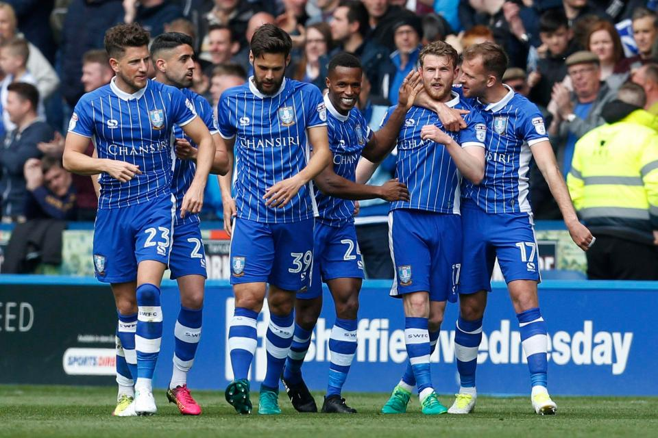 SHEFFIELD WEDNESDAY TEAM FOOTBALL 2017