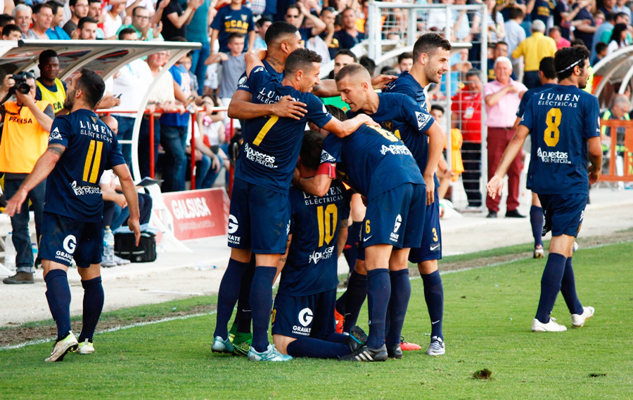 UCAM MURCIA PEMAIN TEAM FOOTBALL 2017