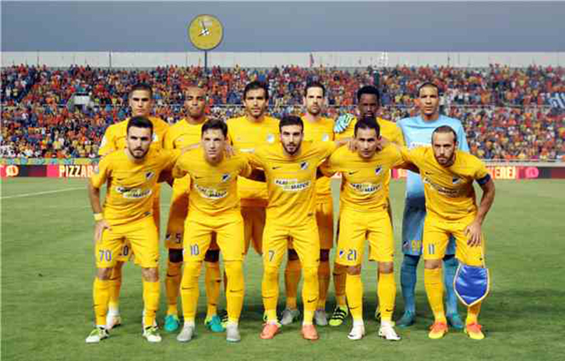 TIM APOEL FOOTBALL 2017 &quot;width =&quot; 440 &quot;height =&quot; 282 &quot;/&gt; </p> </p> <p> <span style=