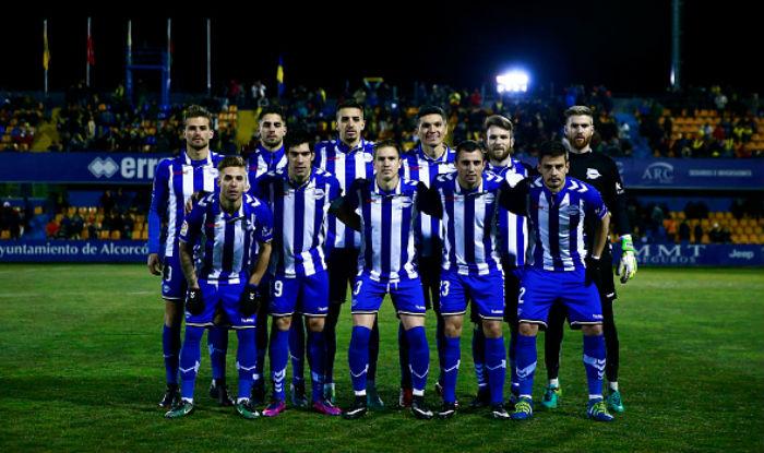 DEPORTIVO ALAVÉS TEAM FOOTBALL 2017