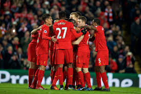 LIVERPOOL TEAM FOOBALL 2017