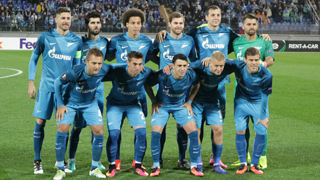 ZENIT TEAM FOOTBALL 2017