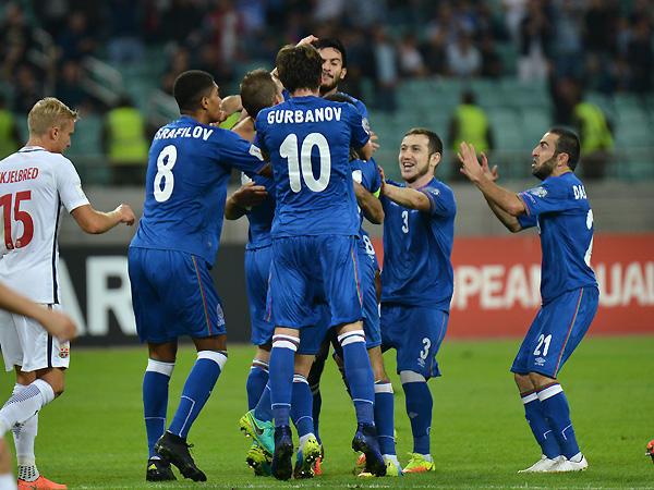AZERBAIJAN TEAM FOOTBALL 2017