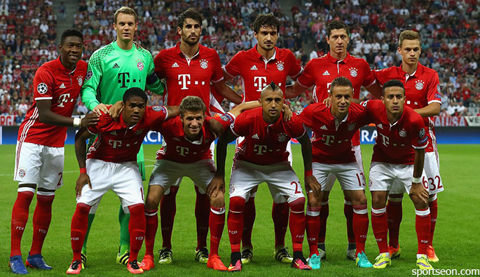 "Tim Bayern Munich Football tim Bayern Munich Football ""width ="" 685 ""height ="" 395 ""/> </p> <p style="