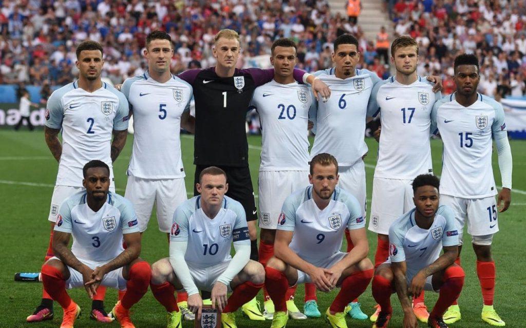 ENGLAND TEAM FOOTBALL 2017