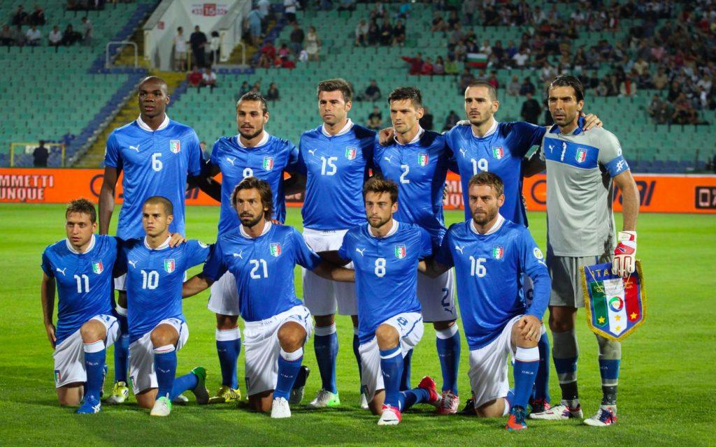 ITALY Team Football 2017
