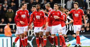 NOTTINGHAM FOREST TEAM FOOTBALL 2017