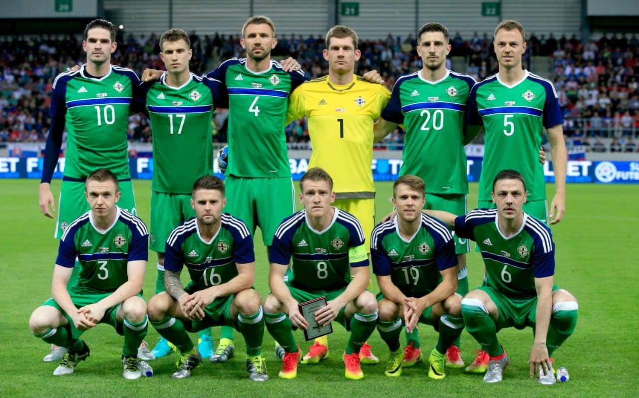 NORTHERN IRELAND TEAM FOOTBALL 2017