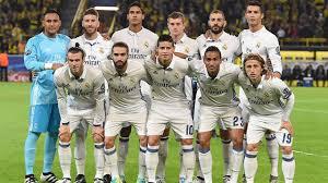 REAL MADRID TEAM FOOTBALL 2017