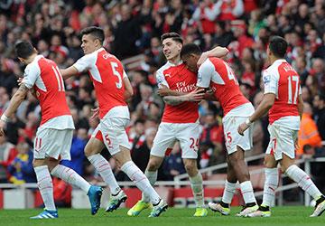 Tim Sepak Bola Arsenal &quot;width =&quot; 719 &quot;height =&quot; 499 &quot;/&gt; </p> <p> <span style=