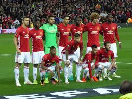 MANCHESTER UNITED TEAM FOOTBALL 2017