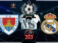 NUMANCIA VS REAL MADRID