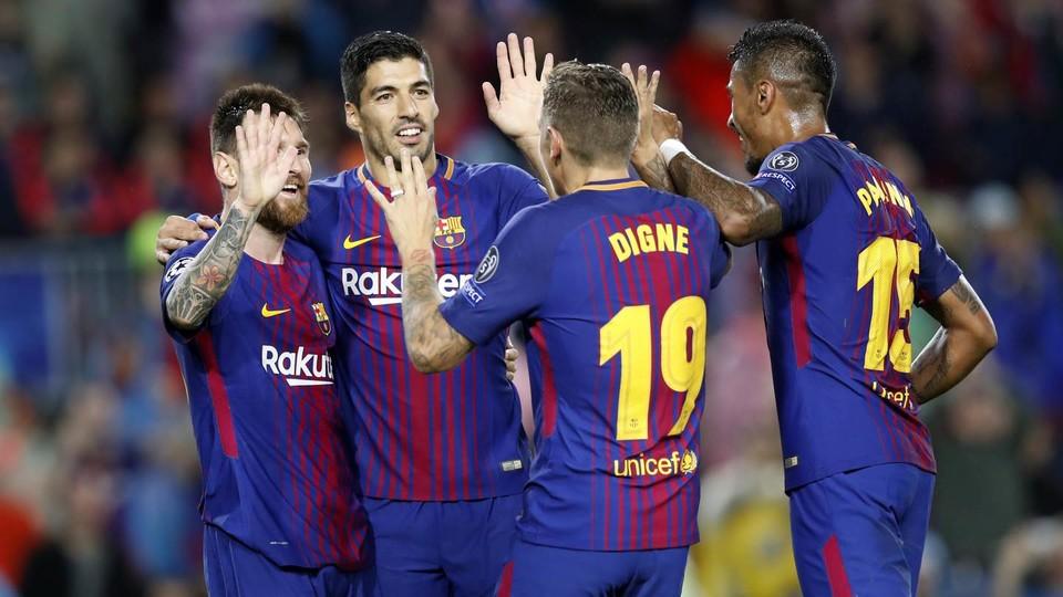 Barcelon Football Team