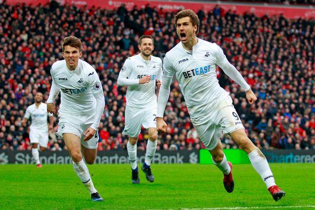 Tim Sepak Bola Swansea &quot;width =&quot; 722 &quot;height =&quot; 481 &quot;/&gt; </p> <p> <span style=