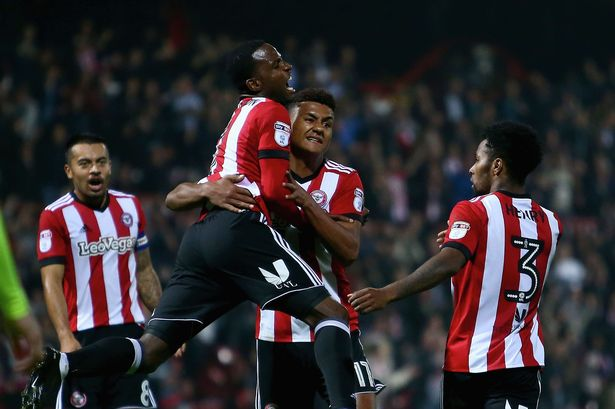 Brentford Football Team ( bola malam ini )