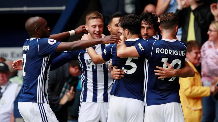 WEST BROMWICH ALBION team football 2018