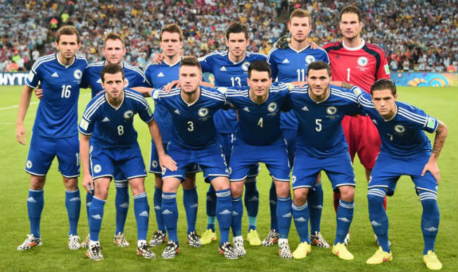 BOSNIA-HERZEGOVINA Team Football 2018