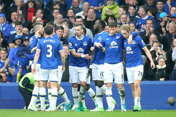 EVERTON Team Football 2018 &quot;width =&quot; 512 &quot;height =&quot; 341 &quot;/&gt; </p> <p> <span style=