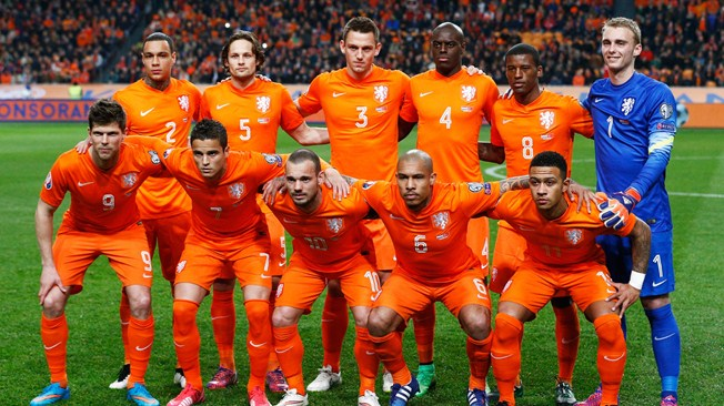 NETHERLANDS Team Football 2018