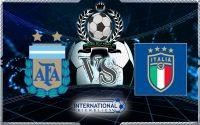 Prediksi Skor Argentina Vs Italia 24 Maret 2018