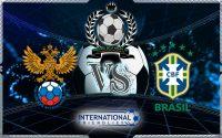 Prediksi Skor Rusia Vs Brazil 23 Maret 2018