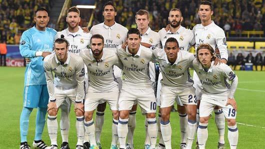 REAL MADRID Team Football 2018