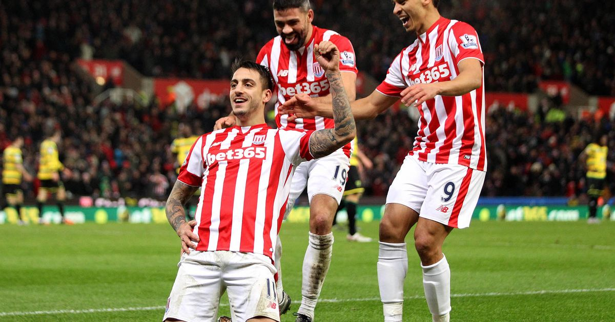 STOKE CITY Team Football 2018 &quot;width =&quot; 605 &quot;height =&quot; 318 &quot;/&gt; </p> <p> <span style=